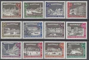 Germany Berlin #9N196-9N207 1962-1963 Mint NH Set of 12