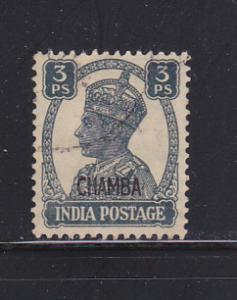India Chamba 89 U King George VI