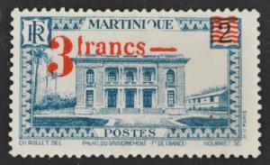 DYNAMITE Stamps: Martinique Scott #192 – UNUSED