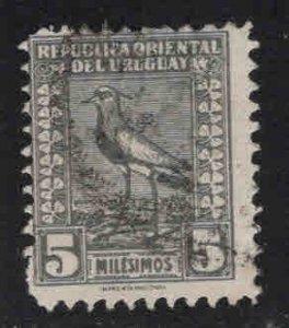 Uruguay Scott 309 Used Lapwing Bird Imprenta National