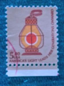 United States 1978 -1979 Americana Issue - Lamps used 5.00