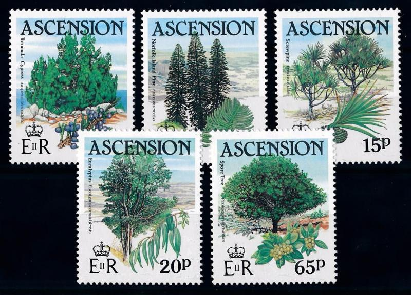 [66259] Ascension 1985 Flora Trees Baumen  MNH