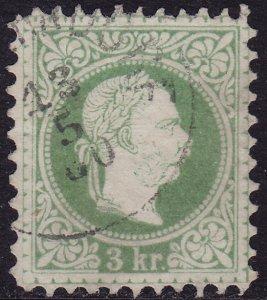 Austria - 1876 - Scott #35b - used - Perf 10 1/2 - Franz Josef