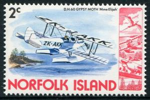 NORFOLK ISLAND 1980 - 2c MNH