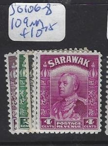 SARAWAK (P1209B) SG 106-8, 109   MOG
