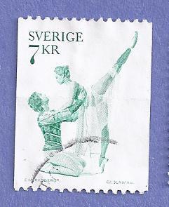 Sweden Scott #1142 Romeo & Juliet CV $.20, Used