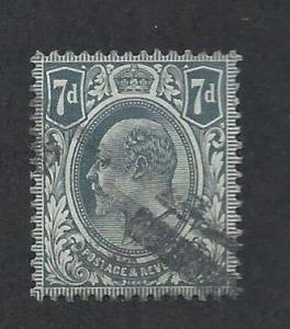 GREAT BRITAIN SC# 145 FVF/U 1910