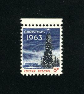 USA #1240  2 used 1963 PD .08