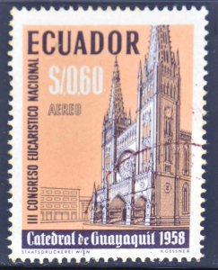 Ecuador Scott C328 Used