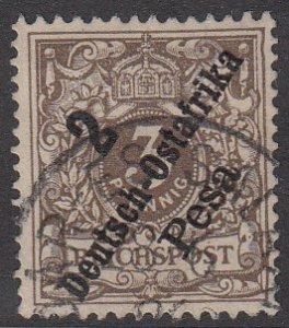 German East Africa 6 Used CV $37.50