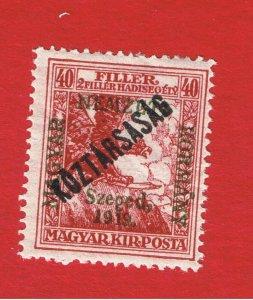 Hungary #11NB4  MVFLH OG  Semi-Postal Overprint  Free S/H