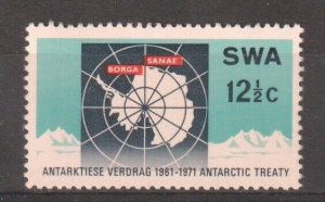 1971 SOUTH WEST AFRICA  -  SG:231  -  ANTARTIC TREATY  -  UNMOUNTED MINT