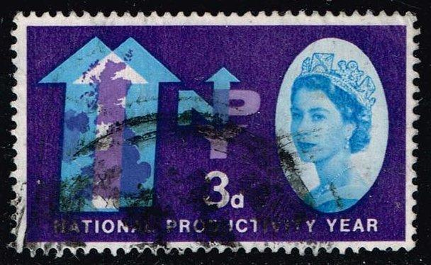 Great Britain #388 National Productivity Year; Used (0.25)
