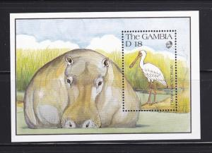 Gambia 1065 MNH Wildlife