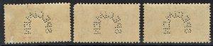 CYPRUS 1937 KGVI CORONATION SPECIMEN SET