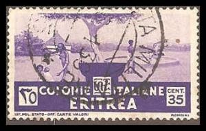 Eritrea 163 Used VF