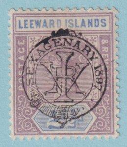LEEWARD ISLANDS 11 MINT HINGED OG *  NO FAULTS EXTRA FINE