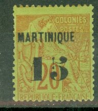 B: Martinique 7 mint CV $200