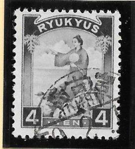 RYUKYU Scott #12 Used 4 Yen Two Women 2018 CV $11.00