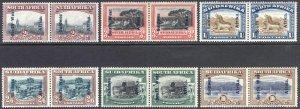 South West Africa 1927 2d-10s Pict SG 49-54 Scott 88-93 VLMM/MVLH Cat £180($230)