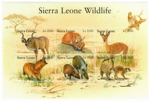 Sierra Leone 2539-40 MNH 2 Sheets (SCV $13.00)