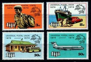 Fiji Sc. #347 to 350 Complete Set - 1974 UPU Centenary - MNH