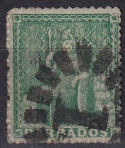 Barbados #15 Used  CV $47.50 (Z2449)