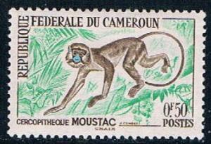 Cameroun 358 MNH Monkey 1962 (C0254)+