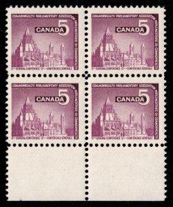 Canada - C.P.A. Conference - Mint Block NH SC450
