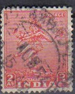 INDIA, 1949, used 2a. Nataraja.