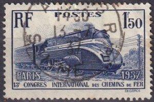 France #328 F-VF Used  CV $8.25 (Z2556)