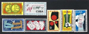 CUBA 663-5 C215-8 MOG 12C VALUE CREASED Z1042