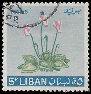 Lebanon #421 1964 Used