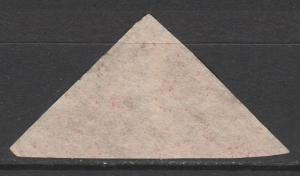 CAPE OF GOOD HOPE 1863 TRIANGLE 1D USED