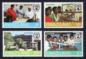 Swaziland Education 4v SG#444-447 SC#444-447