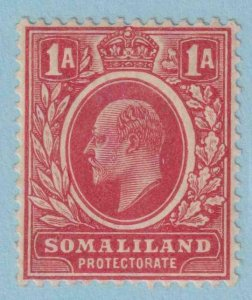SOMALILAND PROTECTORATE 50  MINT HINGED OG * NO FAULTS EXTRA FINE !