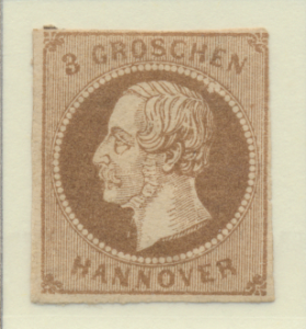Hanover (German State) Stamp Scott #23, Mint Hinged, Partial Original Gum - F...