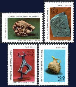 Turkey MNH B113-6 MUSEUM PIECES 1966