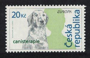 Czech Rep. Dog Canistherapy Europa Integration 1v SG#468