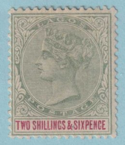 LAGOS 34 MINT HINGED OG *  NO FAULTS EXTRA FINE