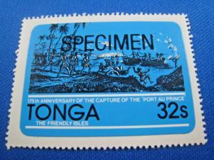 TONGA  -  SCOTT # 498  SPECIMEN  MNH      (gg)