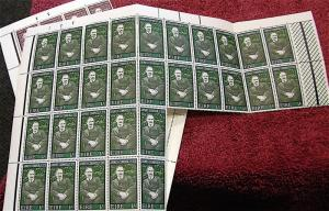 Ireland 1968------ James Connolly-----Countess Markievicz---Partial Sheets MNH