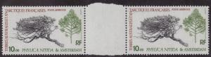 FRENCH SOUTHERN & ANTARCTIC TERR MNH Scott # C59 Trees (2 Stamps) -1 (2)