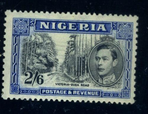 Nigeria #63c MINT VF OG LH Cat$42