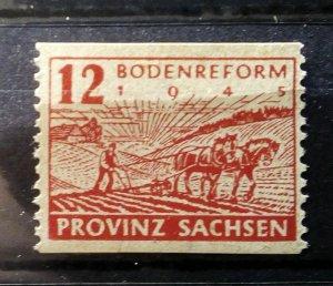Germany Provinz Sachsen 86 C perforation mnh