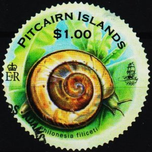 Pitcairn Islands. 2010 $1 Fine Used