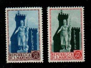 San Marino #356-357  MNH  Scott $4.50