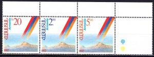 Armenia. 1992. 194-96. Independence of Armenia. MNH.