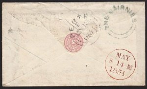GB SCOTLAND 1854 THE CAIRNIES circular Scots local namestamp on cover.......9184
