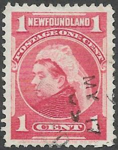 Newfoundland Scott Number 79 VF Used
